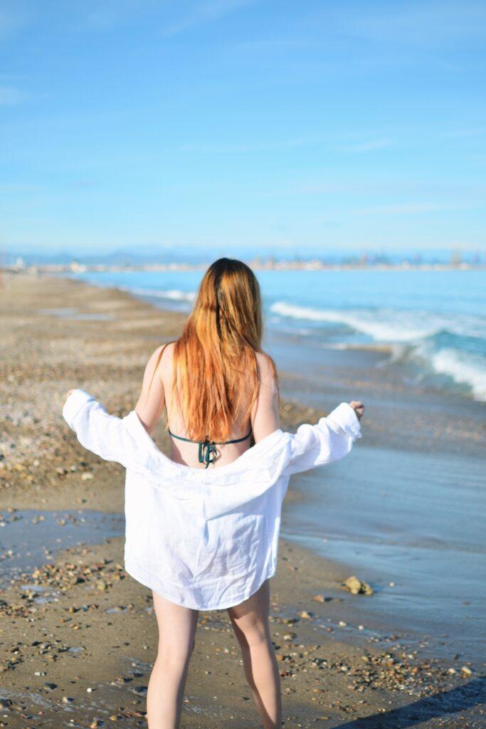 Plaża i morze El Saler