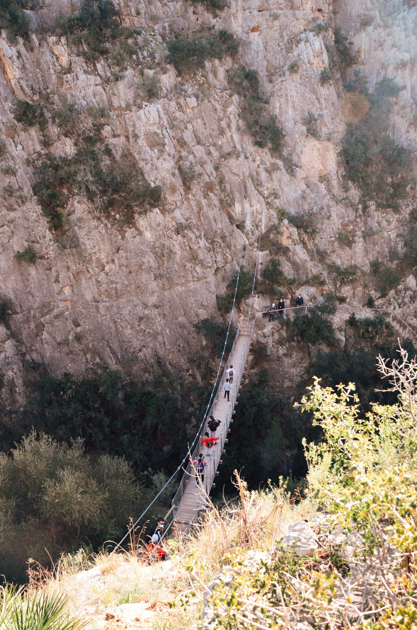 Wiszący most w Chulilla