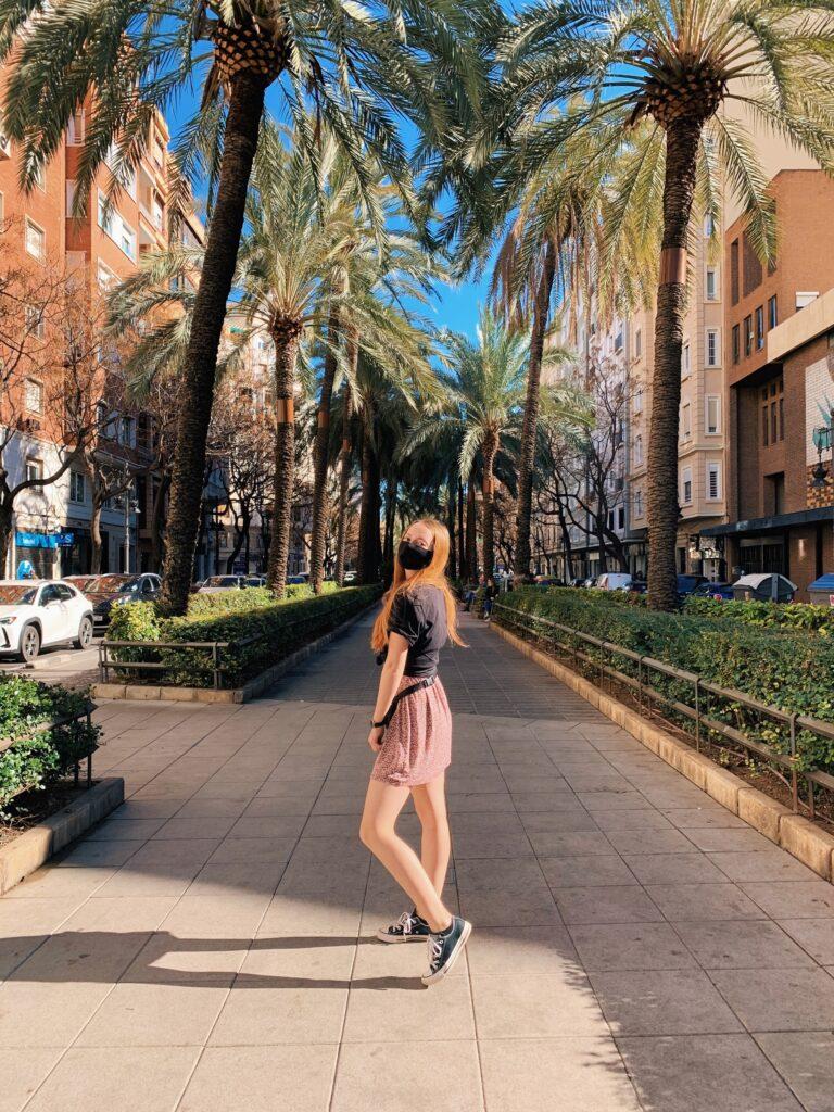 Deptak miejski w Walencji