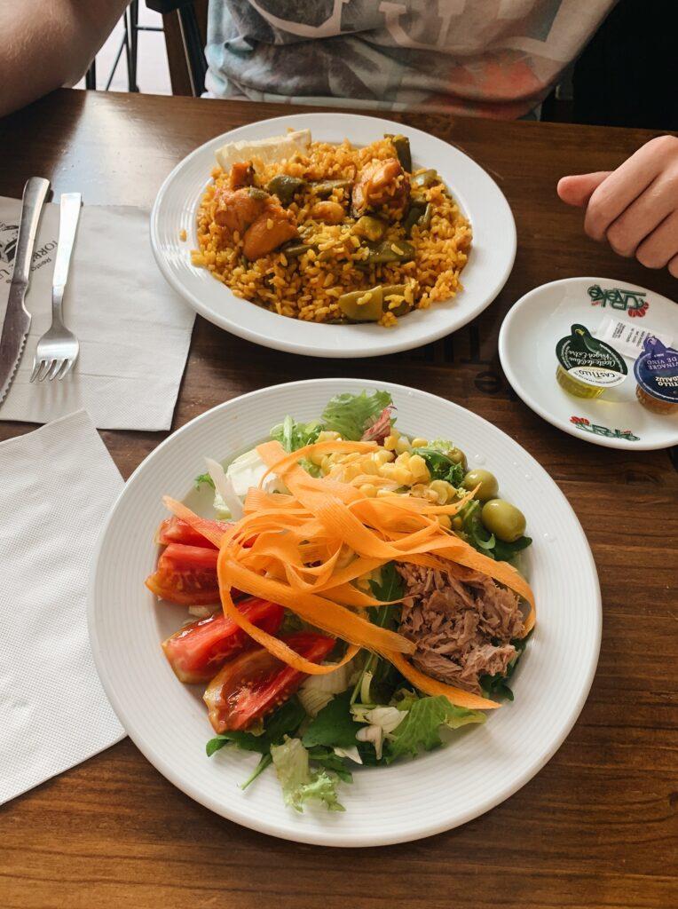 Walencja restauracja Torre de Utiel