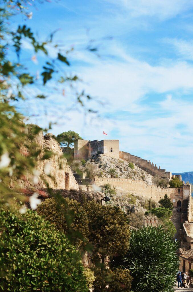 Xátiva zamek 2