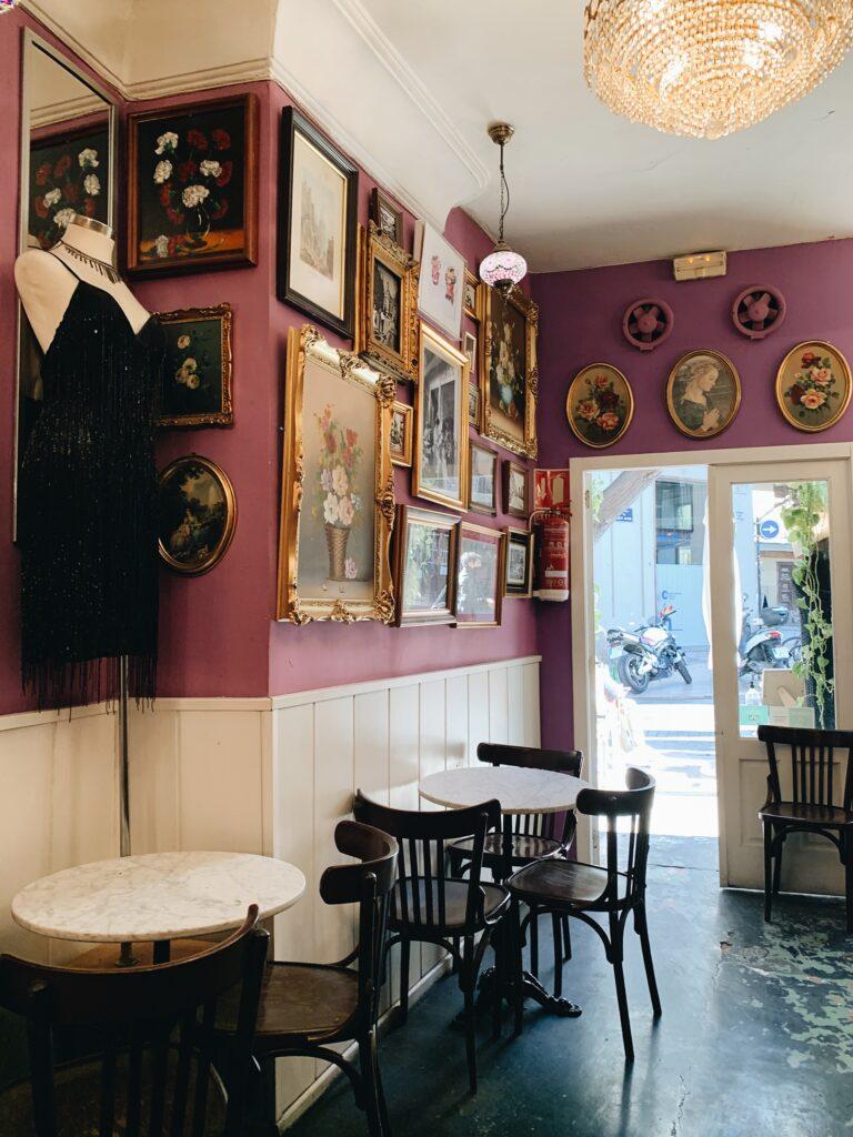 El Cafetin Walencja wnętrze