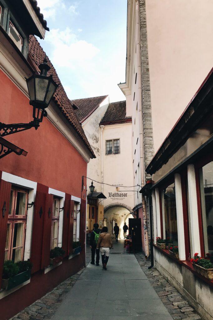 Tallin uliczka