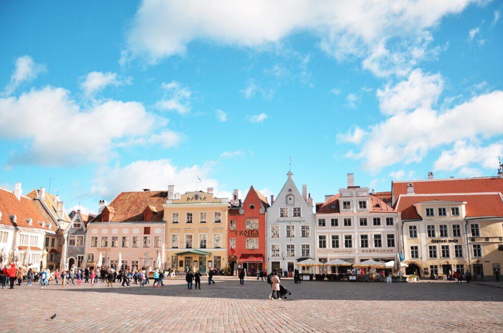 Rynek w Tallinie