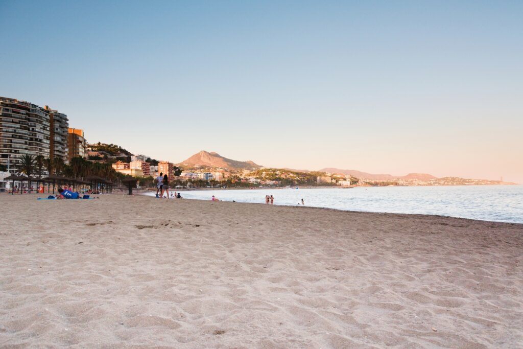Plaża Malaga