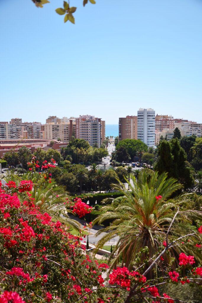 Malaga Mirador Gibralfaro