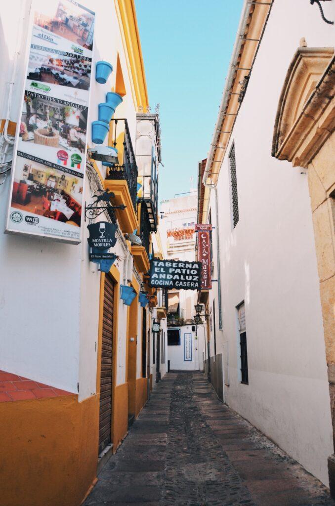 Uliczki w Kordobie