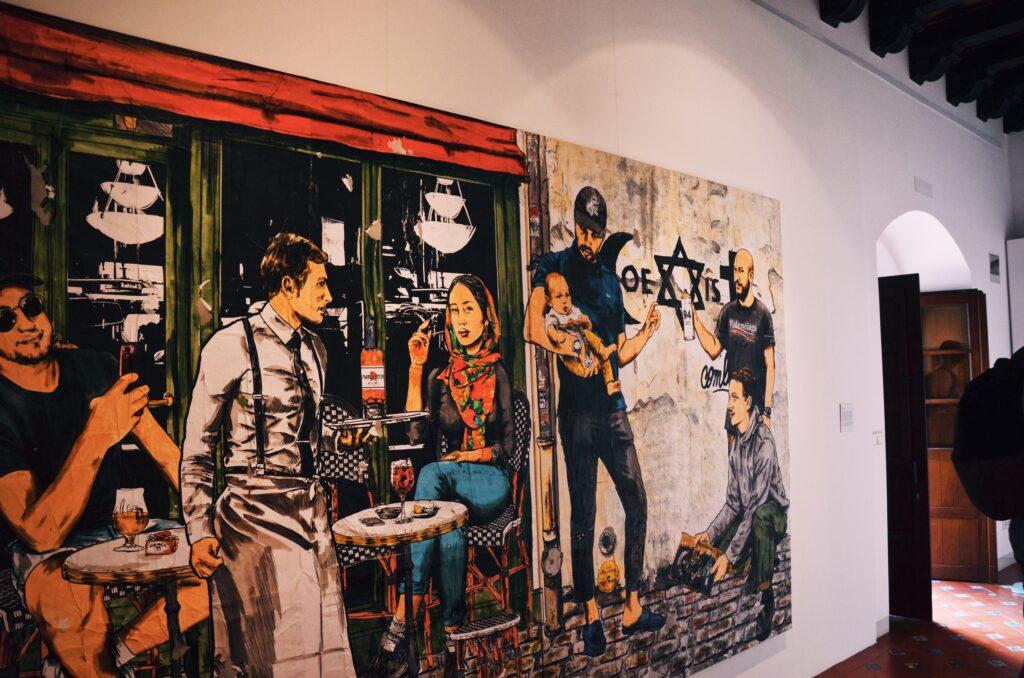 Wystawa Casa Arabe