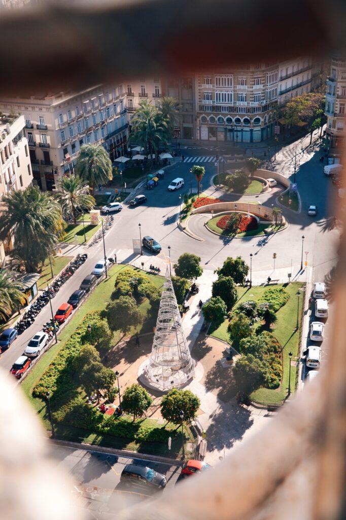 Walencja widok na miasto