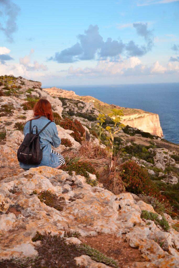 Dingi Cliffs Malta