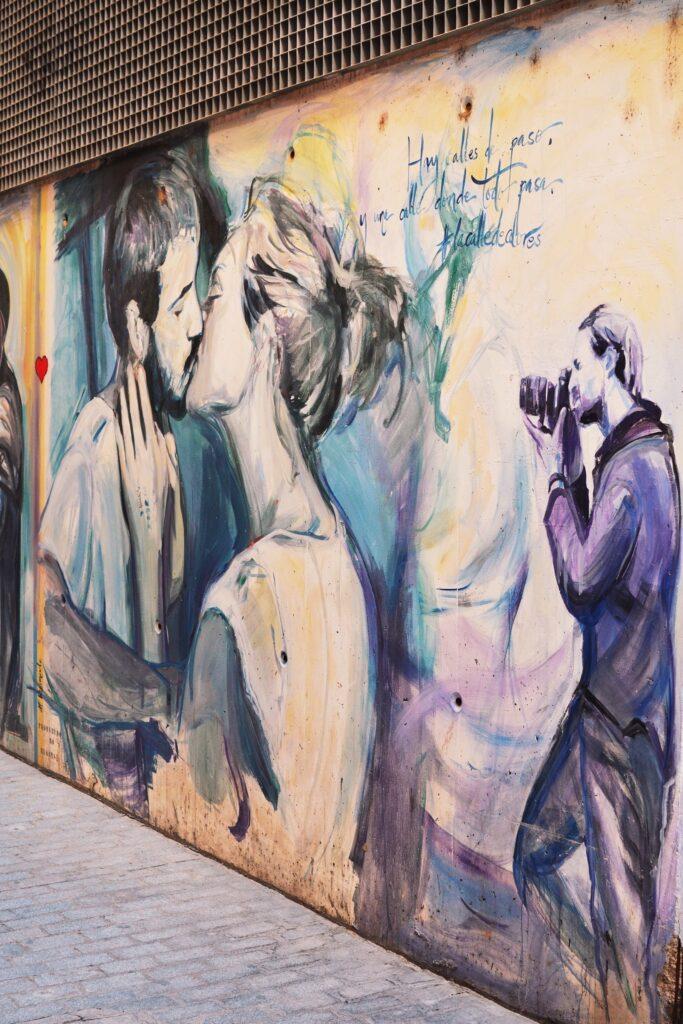Walencja murale