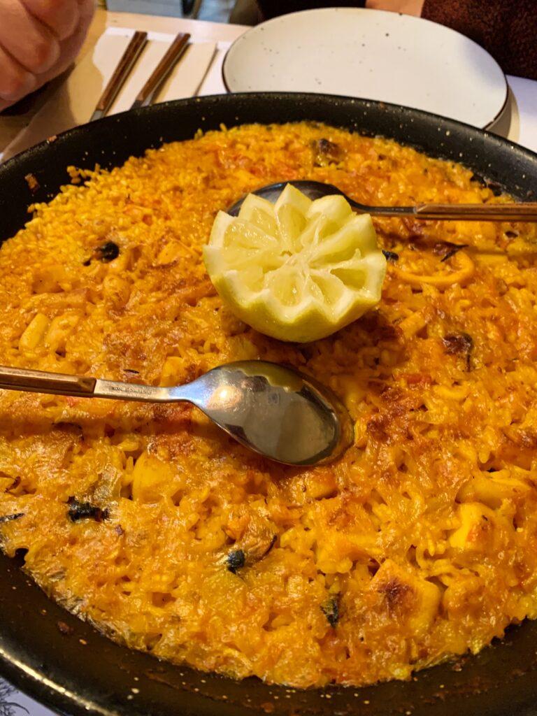 Walencja paella