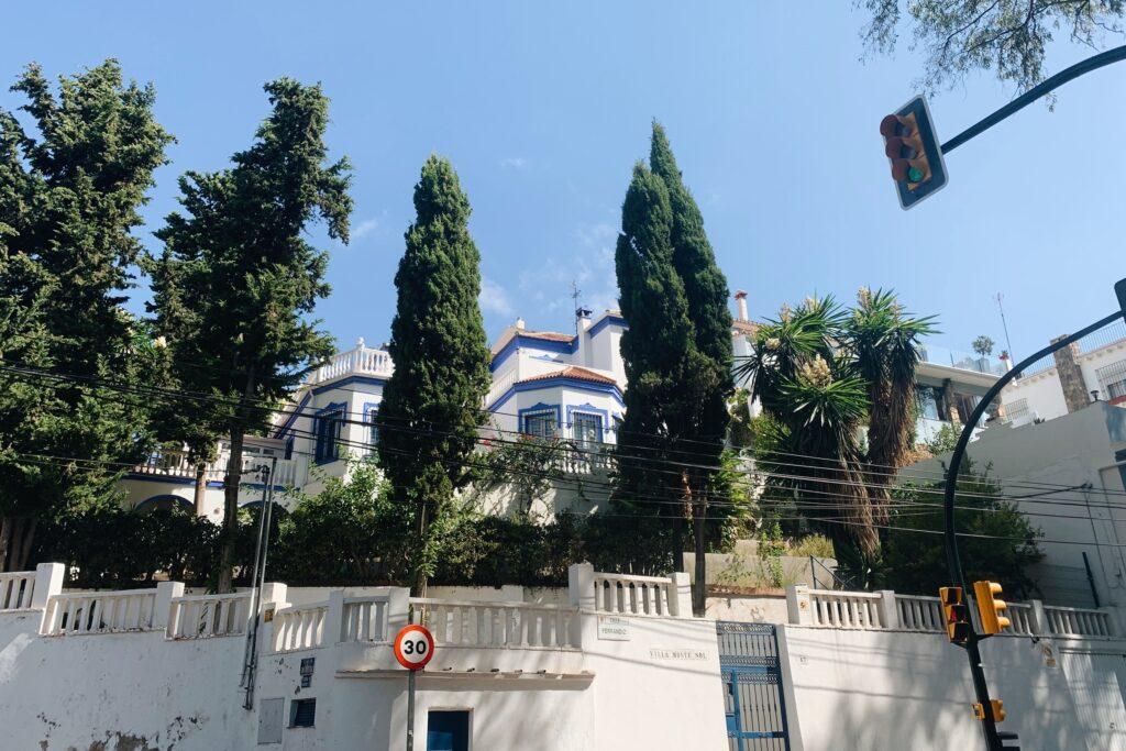 Malaga droga na punkt widokowy