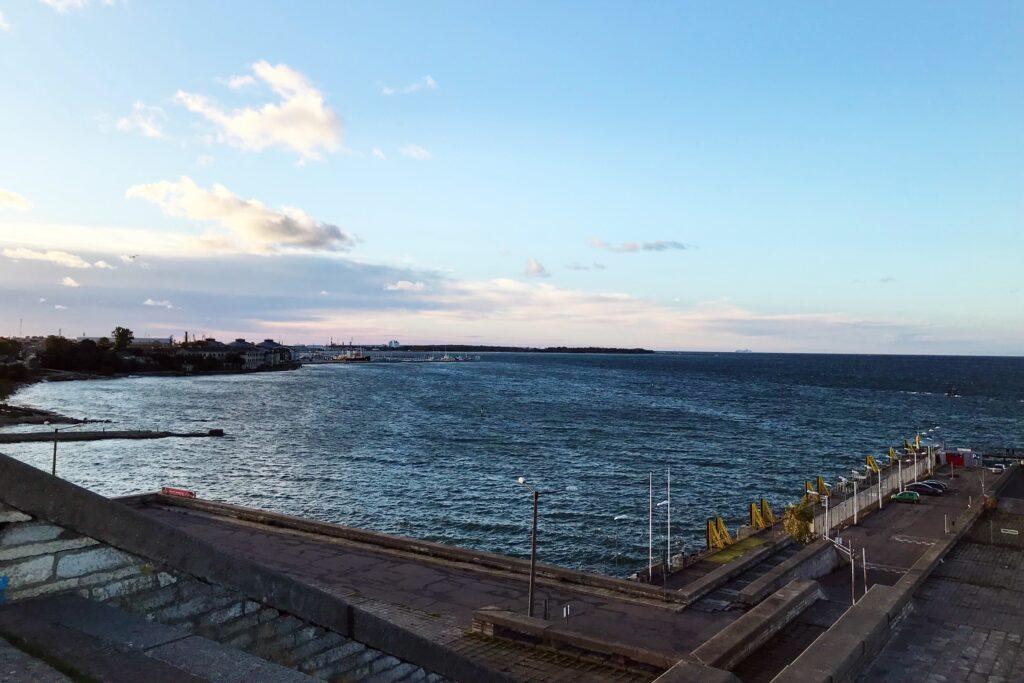 Morze Bałtyckie Tallin