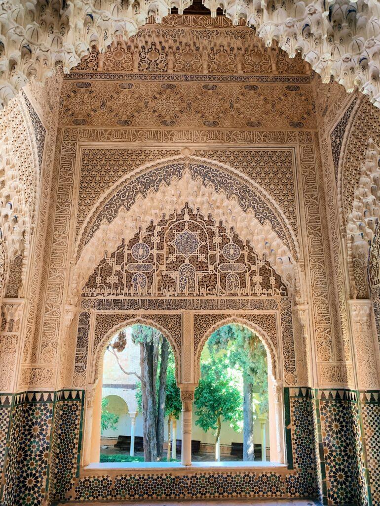 Zdobienia w Pałacu Nasrydów