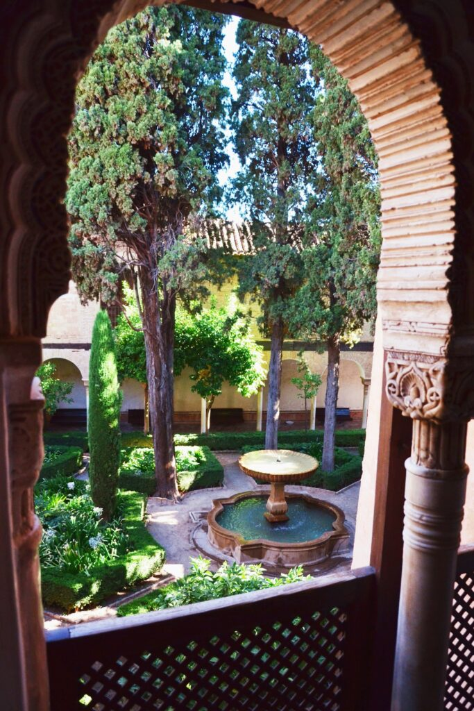 Dziedziniec Alhambra Grenada