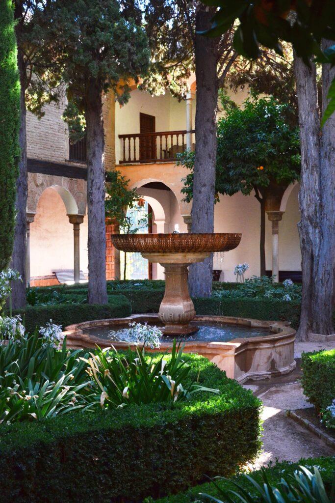 Dziedziniec Alhambra