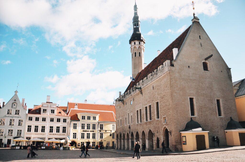 Ratusz w Tallinie