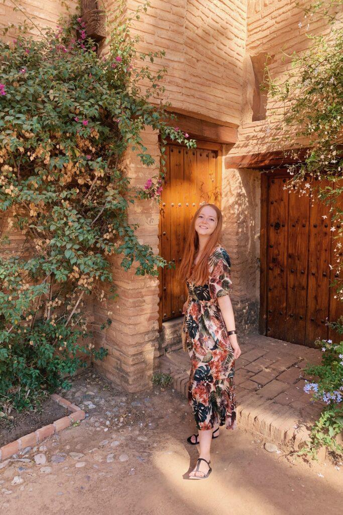 Ogrody Alhambra Grenada