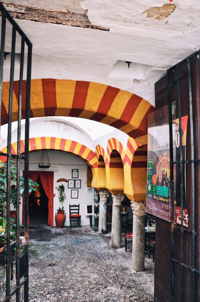 Restauracja w Kordobie
